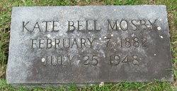 Kate <i>Bell</i> Mosby