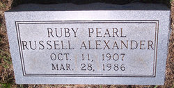 Ruby Pearl <i>Russell</i> Alexander