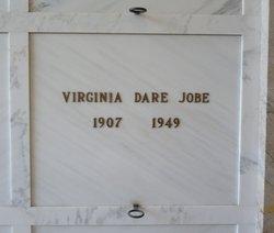 Virginia Dare <i>Utz</i> Jobe