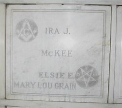 Elsie E <i>Jost</i> McKee