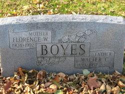Florence W Boyes