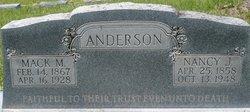 Nancy Jane <i>Loving</i> Anderson