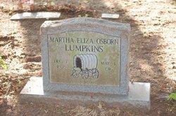 Martha Eliza <i>Osborn</i> Lumpkins