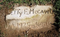 Betty E McCawley