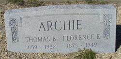 Florence Elizabeth <i>Weir</i> Archie