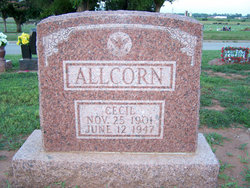 Cecil Ivy Allcorn