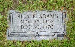 Nica B Adams