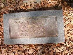 Nancy M <i>Cooper</i> Ashcraft