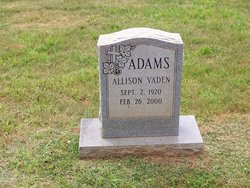 Allison Vaden Adams