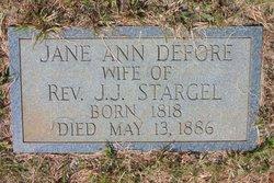 Jane Ann <i>Defore</i> Stargel