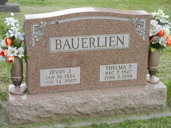 Thelma Pauline <i>Hyser</i> Bauerlien