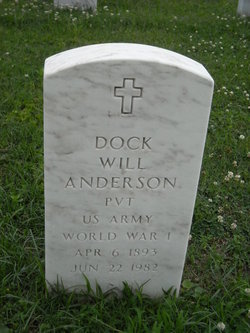 Dock William Anderson