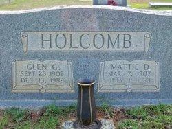 Mattie D. Holcomb