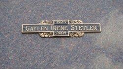 Gaylen Irene <i>Goff</i> Stetler