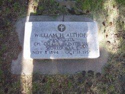 Corp William Henry Althoff