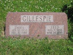 Emma Elizabeth <i>Kellogg</i> Gillespie