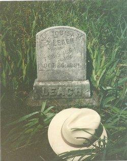 Louisa M. Eliza <i>Wood</i> Leach