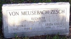 Elizabeth Von Meusebach-Zesch