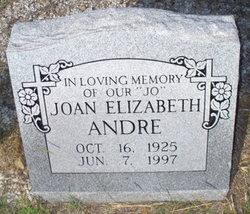 Joan Elizabeth JO Andre