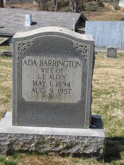 Ada <i>Barrington</i> Allen