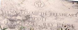 Velma Elizabeth Breshears