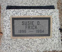 Susie Olive <i>Talkington</i> Frick