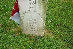 Pvt Franklin M. Brown