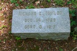 Sgt Richard Edward Taylor