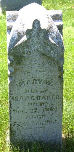 Mary W Baker