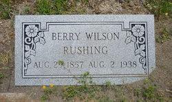 Berry Wilson Rushing