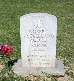 Robert McClelland Acord