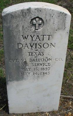 Wyatt Wylie Davison