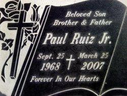 Paul Ruiz, Jr