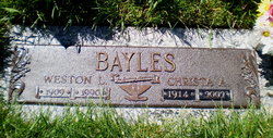 Weston Lyman Bayles