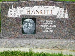Gladys Mae <i>Harward</i> Haskell