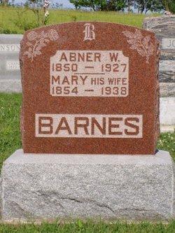 Mary <i>Fouts</i> Barnes