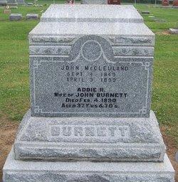 Addie R <i>Kilburn</i> Burnett