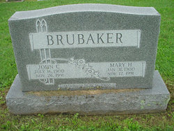 Mary <i>Harnish</i> Brubaker