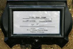 Vera Mae <i>Lewis</i> Kemp