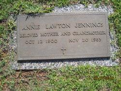Annie Lawton <i>Phillips</i> Jennings