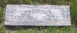 Myrtle Ione <i>Johnson</i> Anderson