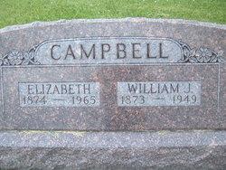 Elizabeth <i>Evans</i> Campbell