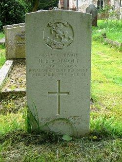 Henry Edward Albert Abbott