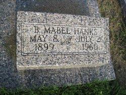 B Mabel Hanks