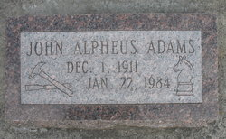 John Alpheus Adams