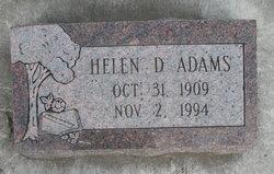 Helen D. Adams