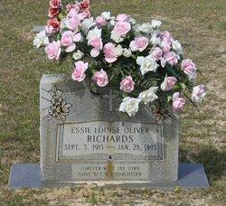 Essie Louise <i>Oliver</i> Richards
