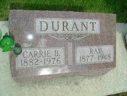 Carrie B <i>Studer</i> Durant