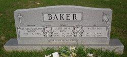 Jessie Irene <i>Ross</i> Baker