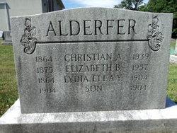 Elizabeth S. <i>Boyer</i> Alderfer